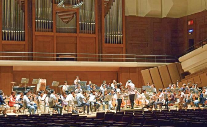 新日本フィルハーモニー交響楽団 コンサート録音
